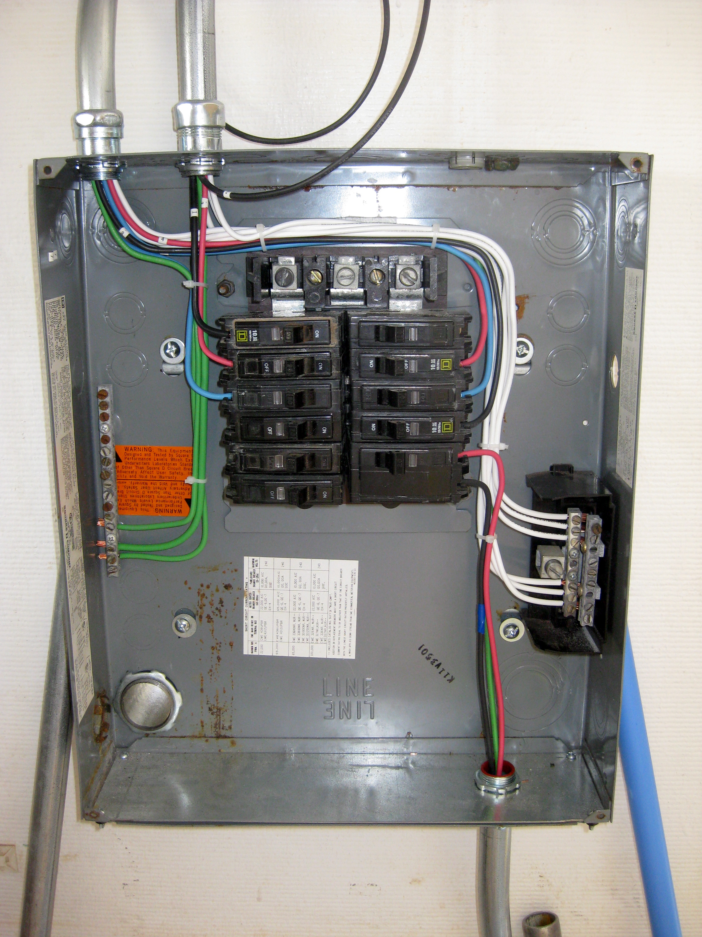 Proper Electrical Panel Clearances