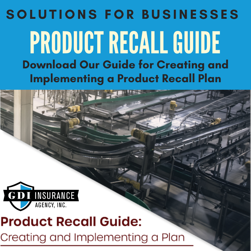 Product Recall Plan